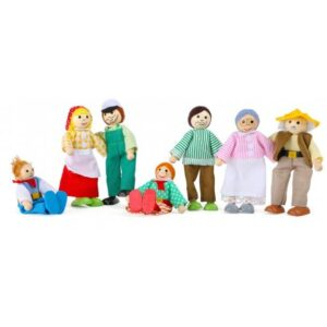 Small foot Dukke Familie