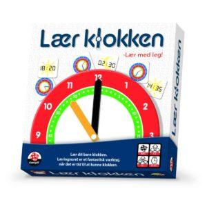 DANSPIL Lær klokken (DK)