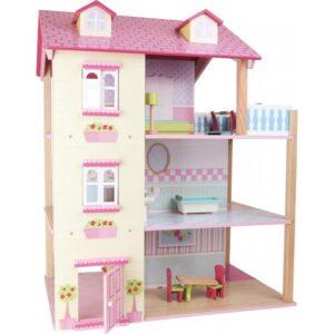 Small foot Dukkehus med Pink Tag