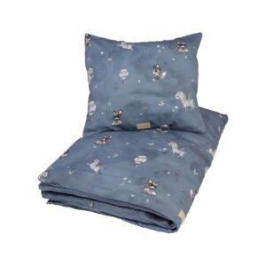 Maseliving Baby sengetøj Fantasy dark blue