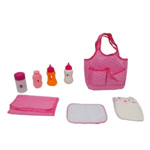 HF Diaper Bag with Doll Care