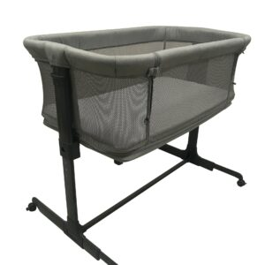 Safe Multi Crib by Babydan (Grey Mesh)