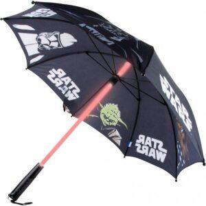 Star Wars Paraply med Lyssværd