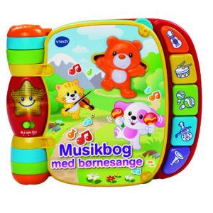 Vtech Baby musikbog med børnesange DK