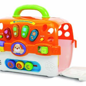 Vtech Baby transportboks m. plyshvalp DK