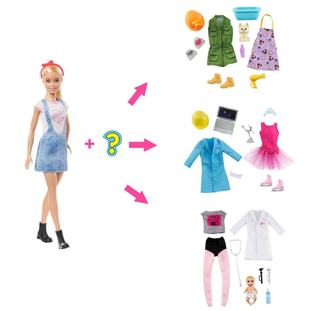Barbie New Surprise Careers Blond