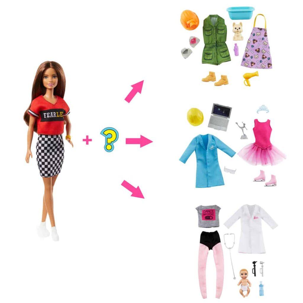 Barbie New Surprise Careers Brunette
