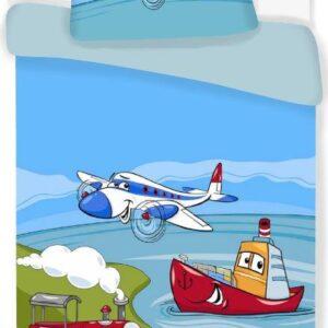 Flyvemaskine junior sengetøj