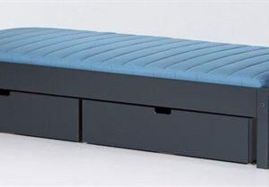 Briks med 2 sengeskuffer