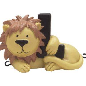 L bogstav med løve til navnetog