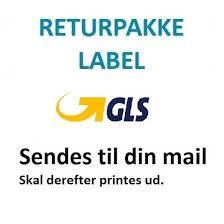 GLS returpakke fra pakkeshop (0-1 kg)