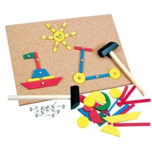 Hammer og Søm - Bino Toys
