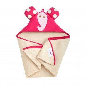 3 Sprouts Baby Håndklæde med Hætte 76cm X 76cm