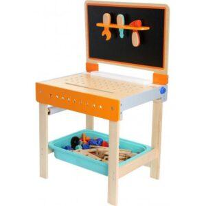 Small foot Værktøjsbænk og Tegnebord i et