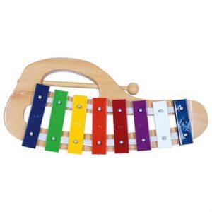 Xylofon med 8 toner - Bino Toys