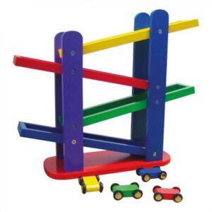 Bilbane med 4 ramper - Bino Toys