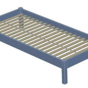 Briks (uden lamelbund) seng 90 x 200 cm