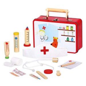 Dyrlæge kuffert - Bino Toys