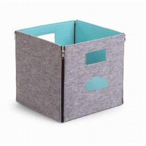 Foldbar box i filt