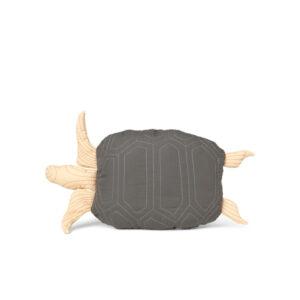 ferm Living Skildpadde Quiltet Pude - Dyb grøn