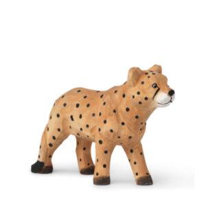 ferm Living Håndskåret dyr - Gepard