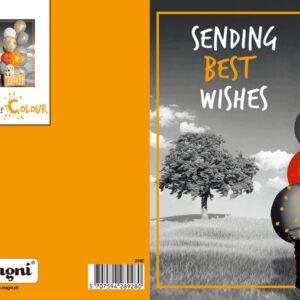 Magni 3D Kort - Sending Best Wishes
