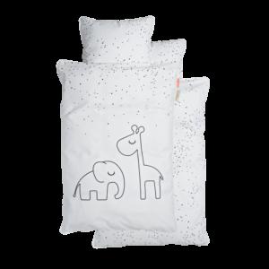 Done By Deer Junior Sengetøj Dreamy Dots Hvid