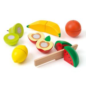 Oxybul 6 Træfrugter Med Trækniv