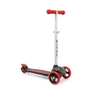 Oxybul Løbehjul Med 3 Hjul Sort/Rød