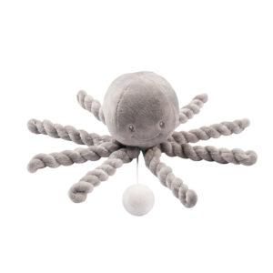 Nattou Lapidou musikuro blæksprutte grå