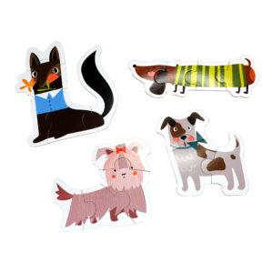 Barbo Toys Hund - Deco Puslespil