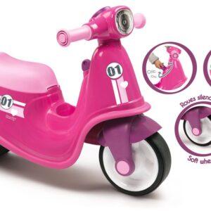 Smoby Scooter Til At Sidde På - Pink