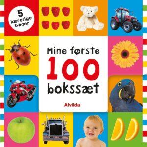 Alvilda Mine første 100 - Bokssæt