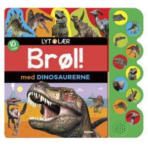 Alvilda Lyt og lær - Brøl med dinosaurerne