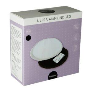 Mininor Ammeindlæg Ultra 24 Stk - Sort