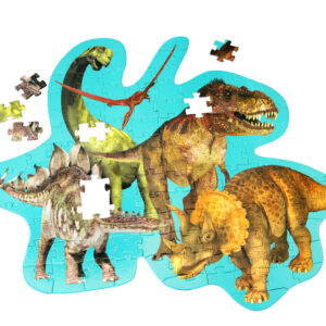 Barbo Toys Gulvpulsespil - Dinosaurs