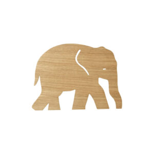 ferm Living Elephant Lamp Lys Natur
