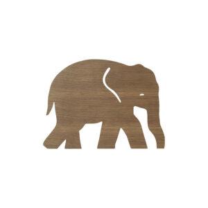 ferm Living Elephant Lamp Mørk Natur