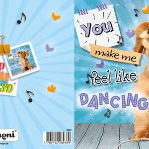 Magni 3D Kort - Feel Like Dancing