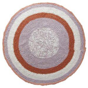 Sebra Hæklet gulvtæppe