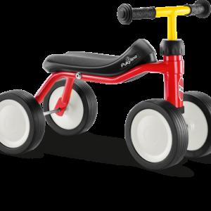 PUKYLINO Løbecykel Rød