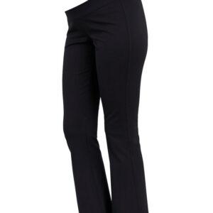 MamaLicious Mija Flare jersey leggings - BLACK