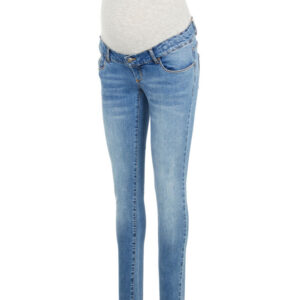 MamaLicious York slim organic jeans - BLUE DENIM