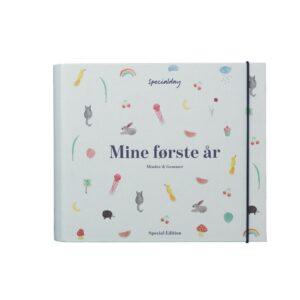 Specialday Mine Første År - Minder Og Gemmer - Blå