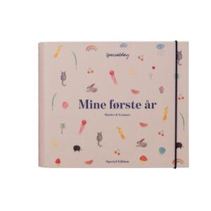 Specialday Mine Første År - Minder Og Gemmer - Rosa