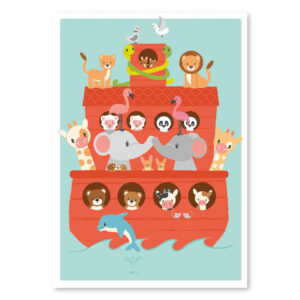Studio Circus Noah´s Ark Plakat - 50 x 70 Cm