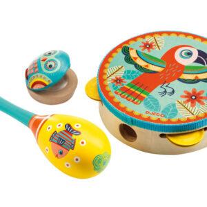 Djeco Sæt med 3 instrumenter
