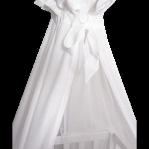 VANILLA COPENHAGEN Sengehimmel 152cm hvid Voile