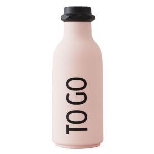 Design Letters To Go Flaske Pink