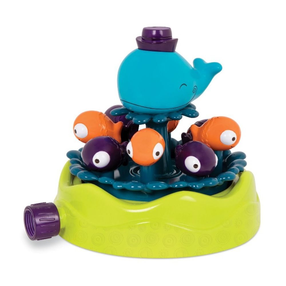 B Toys Whirly Whale Sprinkler